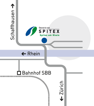 Lageplan Spitex am Rhein, Eglisau
